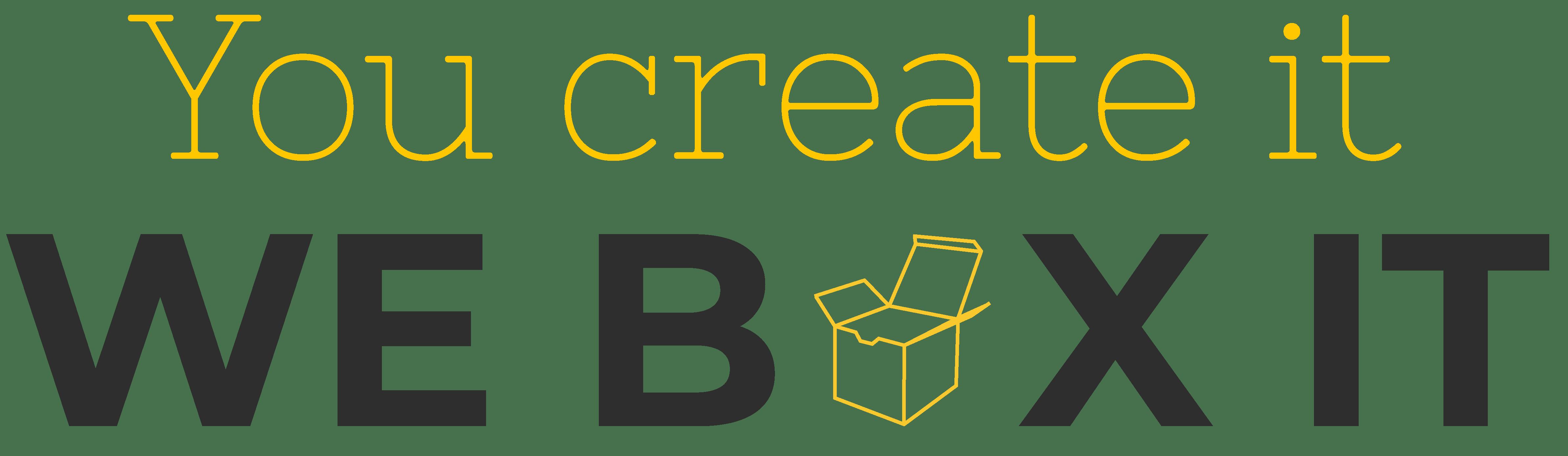We Box It logo website